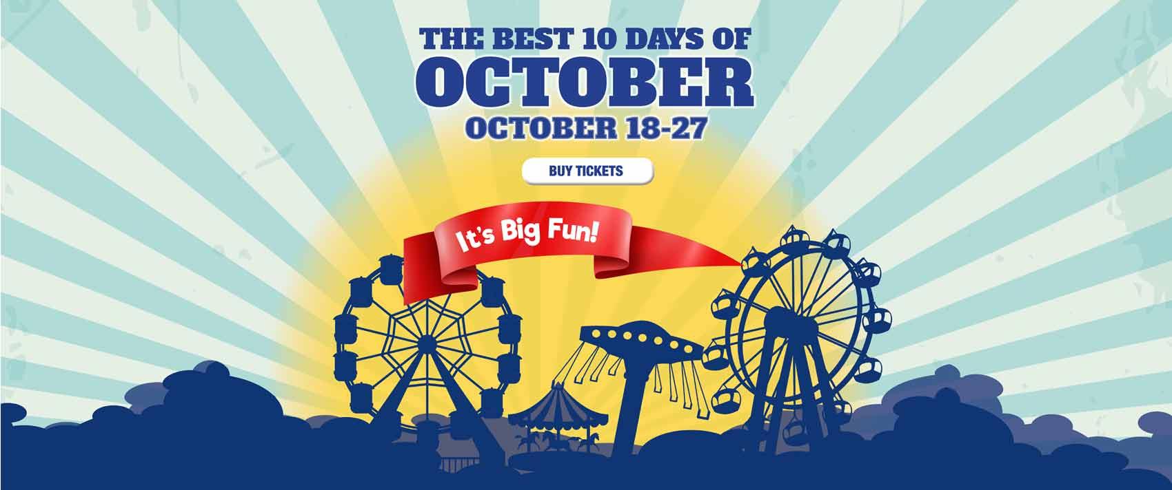Georgia Carolina State Fair - It's Big Fun!